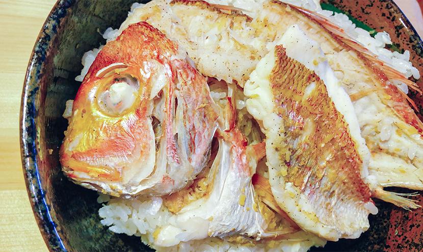 Sea bream rice image